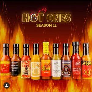 Hot Ones Season 11 Sauce Lineup