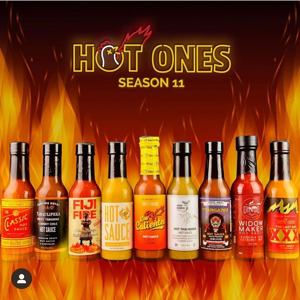 Widow Maker on Hot Ones S11!