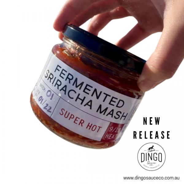 Fermented Super Hot Sriracha Mash